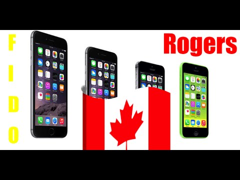 Factory Unlock Rogers / Fido Apple iPhone 4 4S 5 5C 6 6 Plus - Cheap - Permanent - iTunes - IMEI