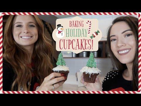 Baking W/ Blair: Holiday Cupcakes! VLOGMAS Day 11