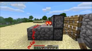 """"""" Как сделать потайную дверь """" В MineCraft"""