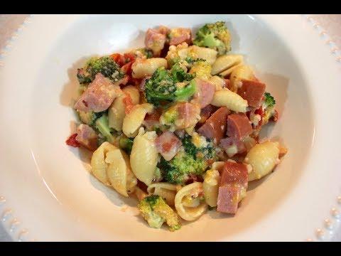 Sausage Casserole | Slow Cooker Pasta Recipes (Crockpot Pasta)