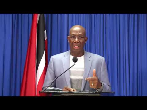 Prime Minister Dr. Keith Rowley Hosts Media Conference - Thursday April 29th 2021