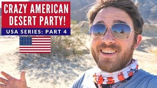 Why So Many American Flags? | Brits In America Part 4 | Ocotillo Wells Desert California