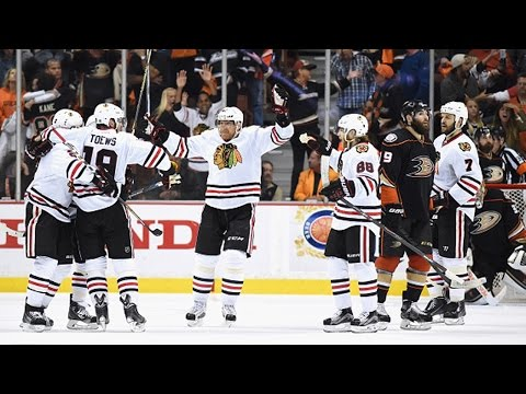 Toews nets two late goals in 72 seconds to force OT