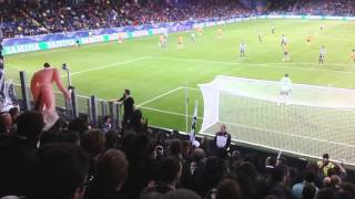 STURM GRAZ Fans in St. Pölten [ÖFB-Cup Semifinale, 07-Mai-2014]