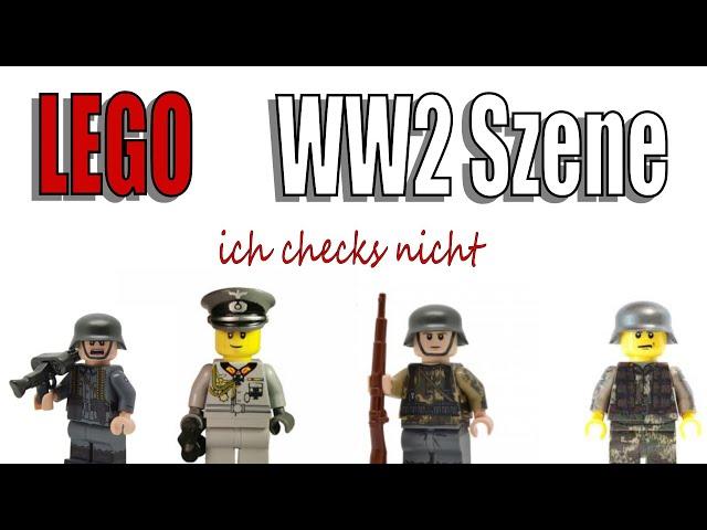 Ich checks nicht: Die LEGO WW2 Szene.