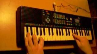 """Nina pretty ballerina"" - on two Kawai toy keyboards"
