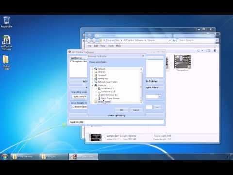 How To Use AVI Splitter Software