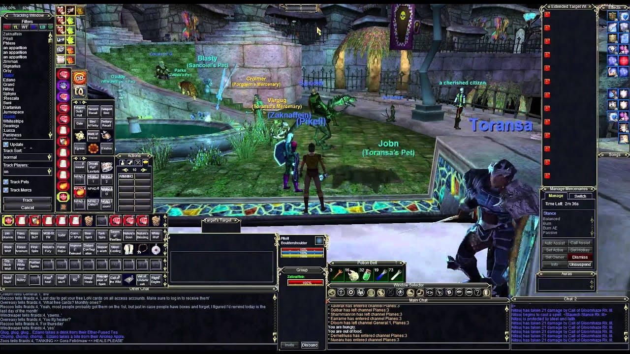 Everquest - Zaknaffein - How to Druid