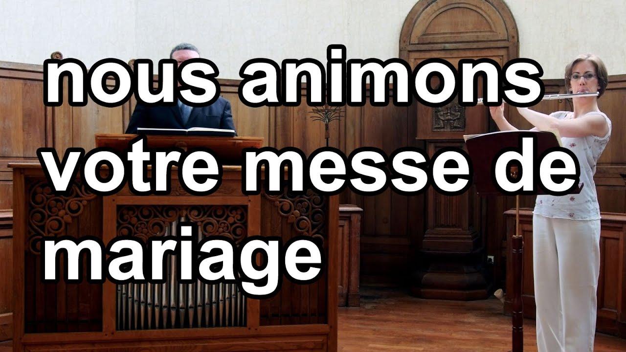 sortie de marcello orgue musique et chant pour messe de mariage youtube - Chant D Envoi Mariage