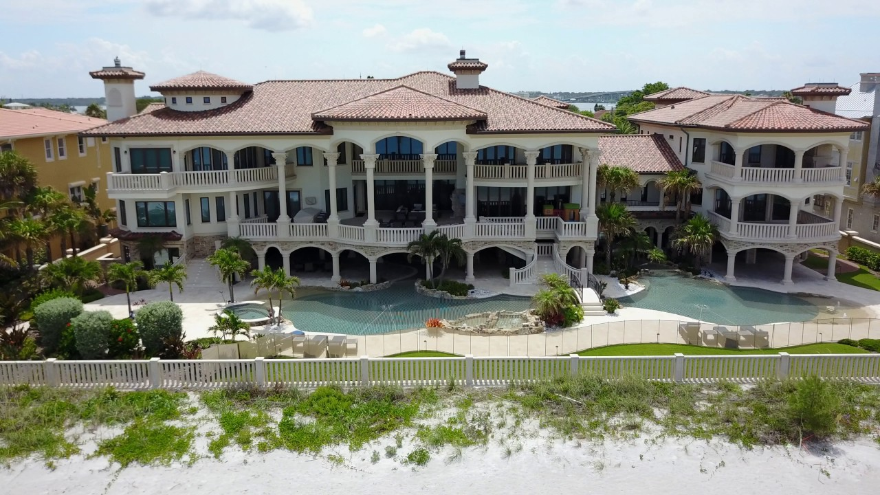 clearwater beach fl ryan howards mansion youtube