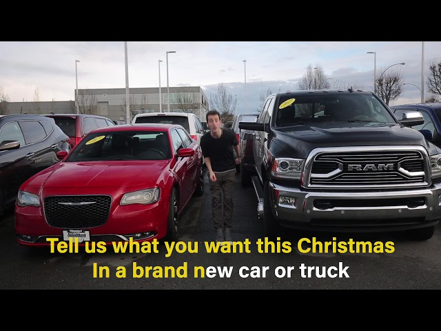 All I Want For Christmas Is You - Abbotsford Chrysler