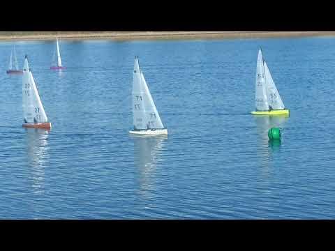2017 Canadian IOM Nationals - A fleet - Saturday, last race - narrated3