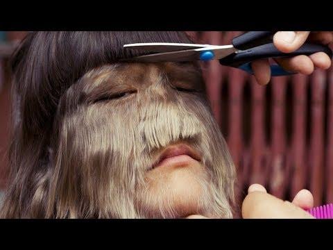 Das behaarteste Mädchen der Welt - zur Hochzeit rasierte sie sich - sieh Dir an wie sie aussieht!