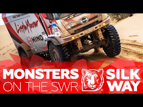 Bonnet trucks on the Silk Way Rally | Silk Way Rally 2020🌏