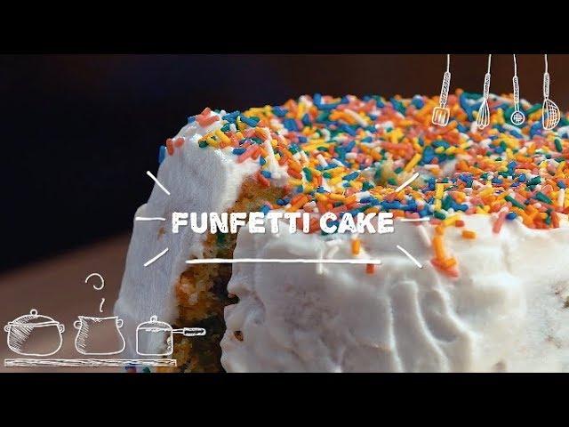 Funfetti Cake - Sabor com Carinho (Tijuca Alimentos)