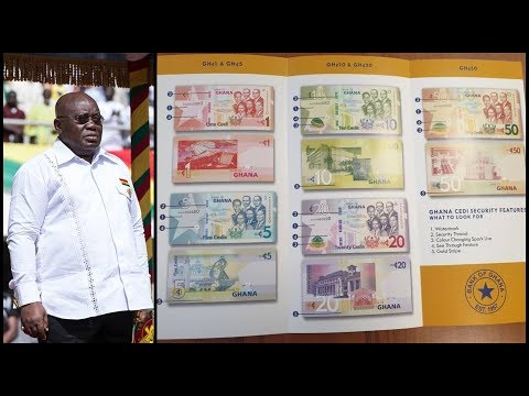Wow..Akuffo Addo To Introduce New Cedi Currency Bank Money Soon...