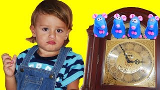 Hickory Dickory Dock | +More Nursery Rhymes & Kids Songs - LETSGOMARTIN