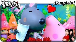 Peppa Pig atrapada en el cuento de BLANCANIEVES!! Peppa es Miraculous LadyBug! Cap.5 - COMPLETO