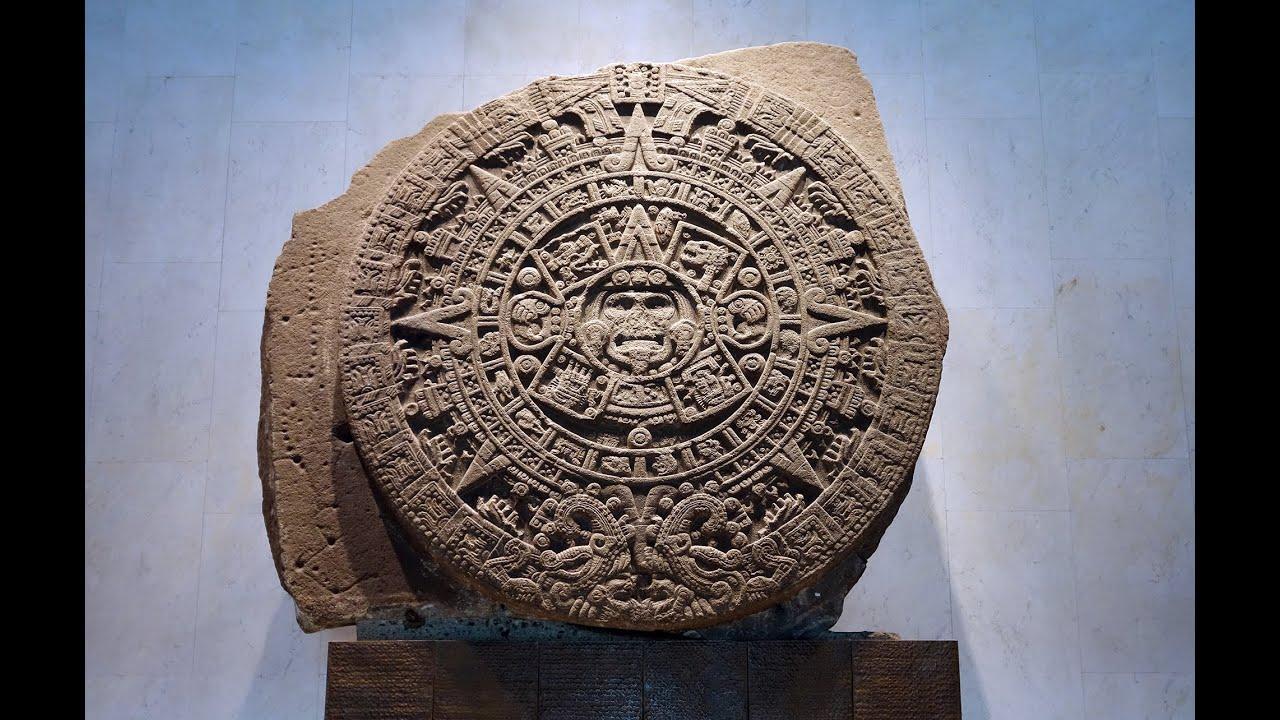 The Calender Stone Calender Wikipedia The Sun Stone The Calendar Stone Youtube