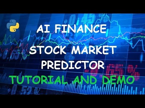 Stock Market Predictor Tutorial -  Using and analyzing stock prices with Python and Pycharm thumbnail