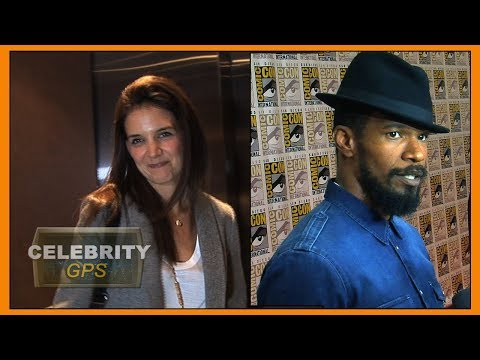 Katie Holmes and Jamie Foxx PDA in Malibu - Hollywood TV