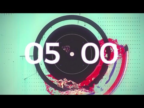 5:00 Minute Countdown Timer w/ music FREE DOWNLOAD HD