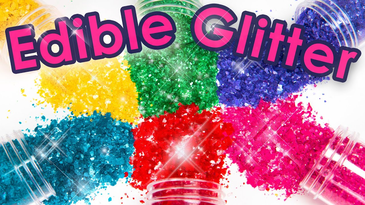 How To Make Edible Glitter 3 Different Ways Cake Decorating Diy