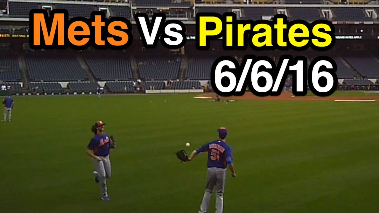 Game 37 Of 2016 New York Mets Take Batting Practice At PNC Park Hit Home Runs In The Rain