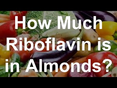 How Much Riboflavin Is In Almonds?