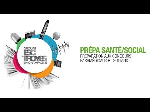 Les Prépa Santé - Social du Groupe ESC Troyes