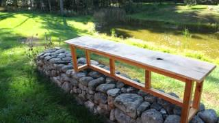 Reclaimed Wood Bench.avi