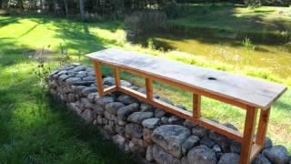 Reclaimed Wood Bench.avi