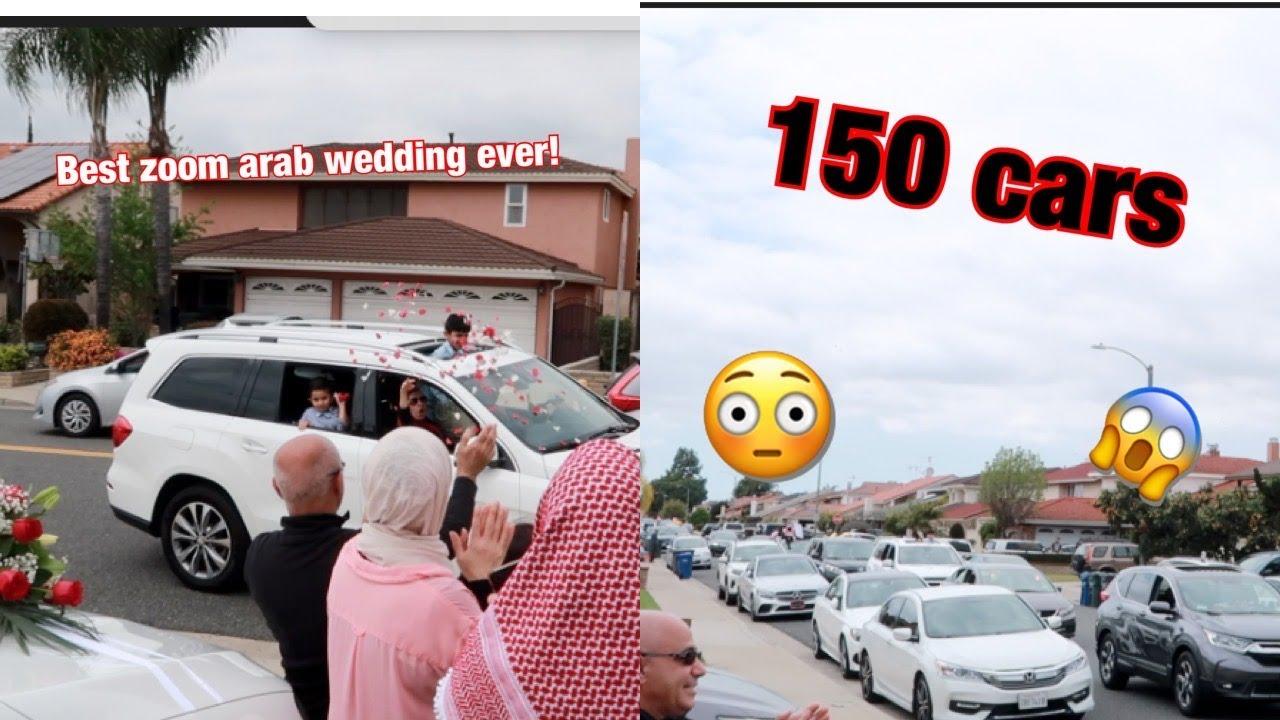 First Ever Arab Zoom Wedding!! *COVID-19*