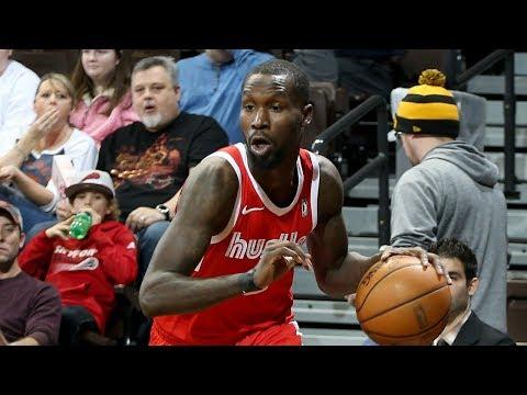 Trahson Burrell's Highlights From NBA G League Showcase