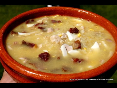 Sopa De Picadillo Youtube