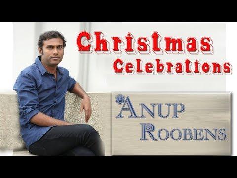 Anup Rubens Singing (Sathish Kumar Song) Live Worship At Simhapur Christmas Celebrstions//Nefficba