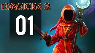 Magicka 2 Gameplay - Part 1 - All Alone