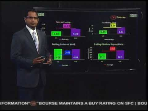 Bourse Report 4th September 2017