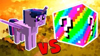 TWILIGHT SPARKLE VS. LUCKY BLOCK EXTREME (MINECRAFT LUCKY BLOCK CHALLENGE)