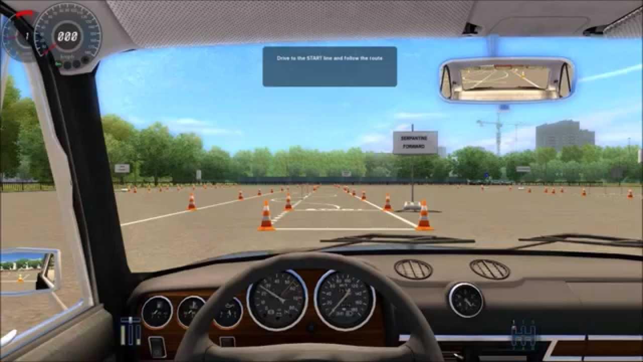 autoskola simulator