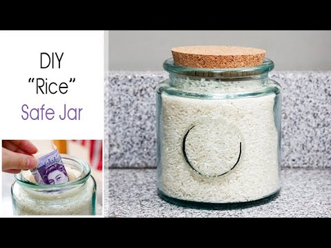 "how-to-make:-a-""rice-jar""-secret-safe-