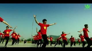 Tiến Lên Việt Nam Ơi   Sơn Tùng M TP   New Way Crew  OFFICIAL FLASHMOB VIDEO