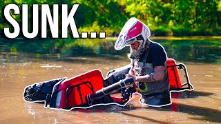 I SUNK MY FOUR WHEELER! Deep Water Riding ENDS TERRIBLY!