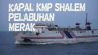 Download Video Kapal Laut KMP SHALEM di pelabuhan Merak MP3 3GP MP4