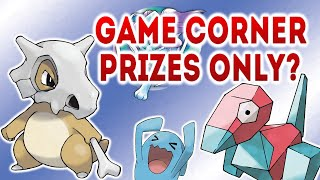 Can you beat Pokémon CRYSTAL using only GAME CORNER PRIZE POKEMON? (NO ITEMS)