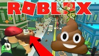 IK MOET POEP OPRUIMEN !! 💩 | Roblox Poop Scooping Simulator