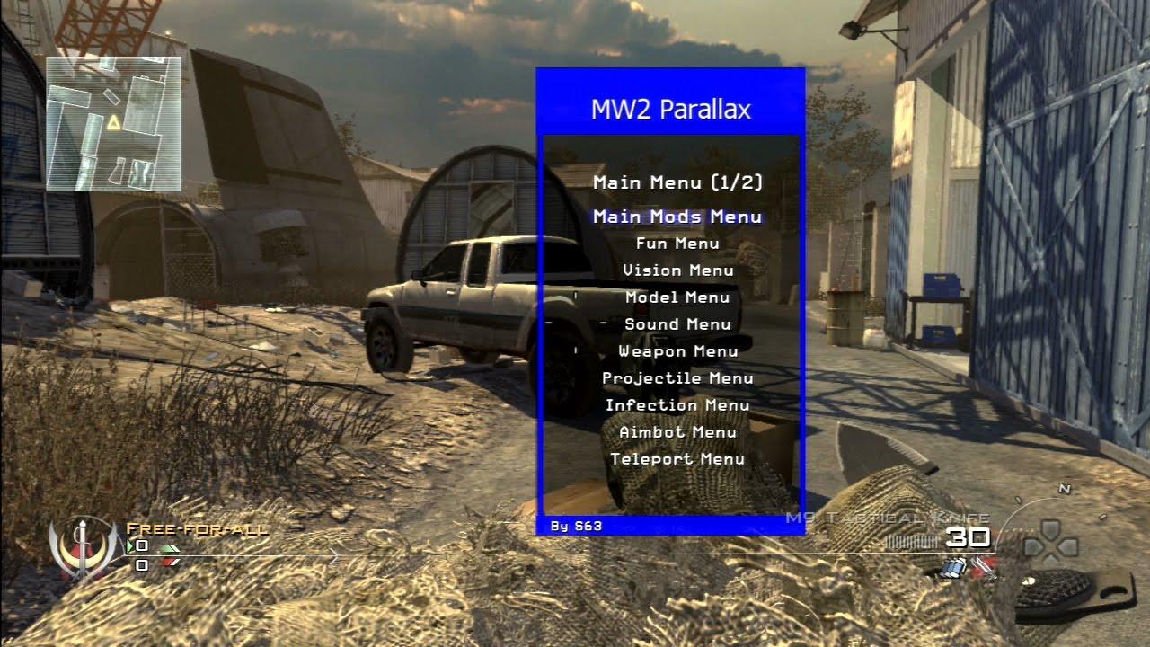 Mw2 mod menu with bots ps3