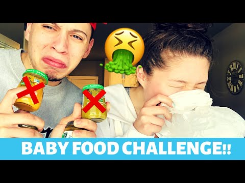 BABY FOOD CHALLENGE!! | DISGUSTING!! |