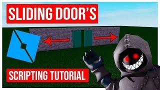 Roblox Scripting Tutorial How to Script a Sliding Door (Roblox Studio)
