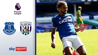 Hattrick von Calvert-Lewin | FC Everton - West Bromwich Albion 5:2 | Highlights - Premier League